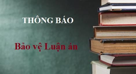 Trường Đại học Ngoại thương tổ chức bảo vệ luận án tiến sĩ cho NCS Nguyễn Chí Tranh