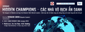 "TỌA ĐÀM KHOA HỌC ""Hidden Champions – The Vanguard of Globalia: Learning from Unknown World Market Leaders"""