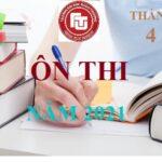 Thông báo mở lớp ÔN THI tuyển sinh đào tạo trình độ thạc sĩ Đợt tháng 6 năm 2021