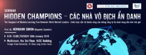 "TỌA ĐÀM KHOA HỌC ""Hidden Champions – The Vanguard of Globalia: Learning from Unknown World Market Leaders"""