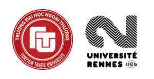 Thông báo TUYỂN SINH chương trình THẠC SĨ THƯƠNG MẠI VÀ QUAN HỆ KINH TẾ Á – ÂU (2020 – 2021)  Do Đại học Rennes 2 (CH Pháp) cấp bằng