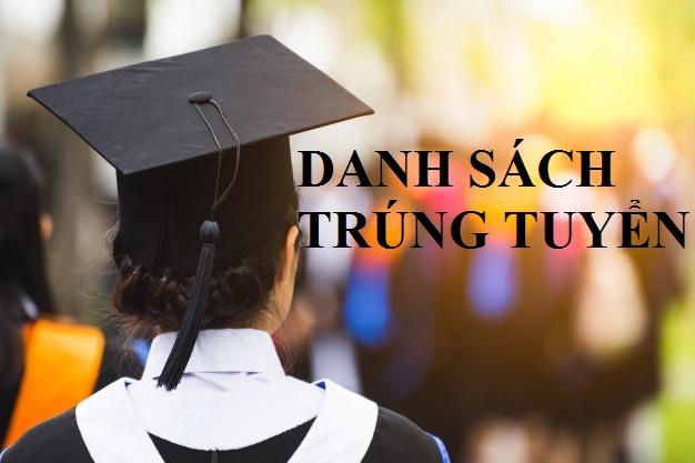 Thông báo DANH SÁCH TRÚNG TUYỂN kỳ thi tuyển sinh đào tạo trình độ Thạc sĩ Đợt Tháng 6 năm 2020