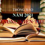 Thông báo MỞ lớp BỔ SUNG KIẾN THỨC đợt THÁNG 3 năm 2021