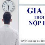 Thông báo GIA HẠN thời gian NỘP HỒ SƠ tuyển sinh sau đại học Đợt tháng 6 năm 2021